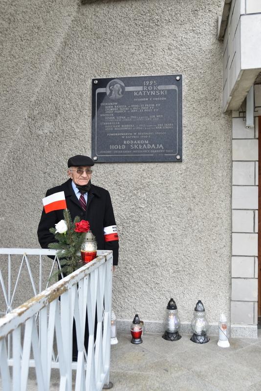 DSC 0948 Dąbrowa Tarnowska uczciła pamięć Ofiar Katynia