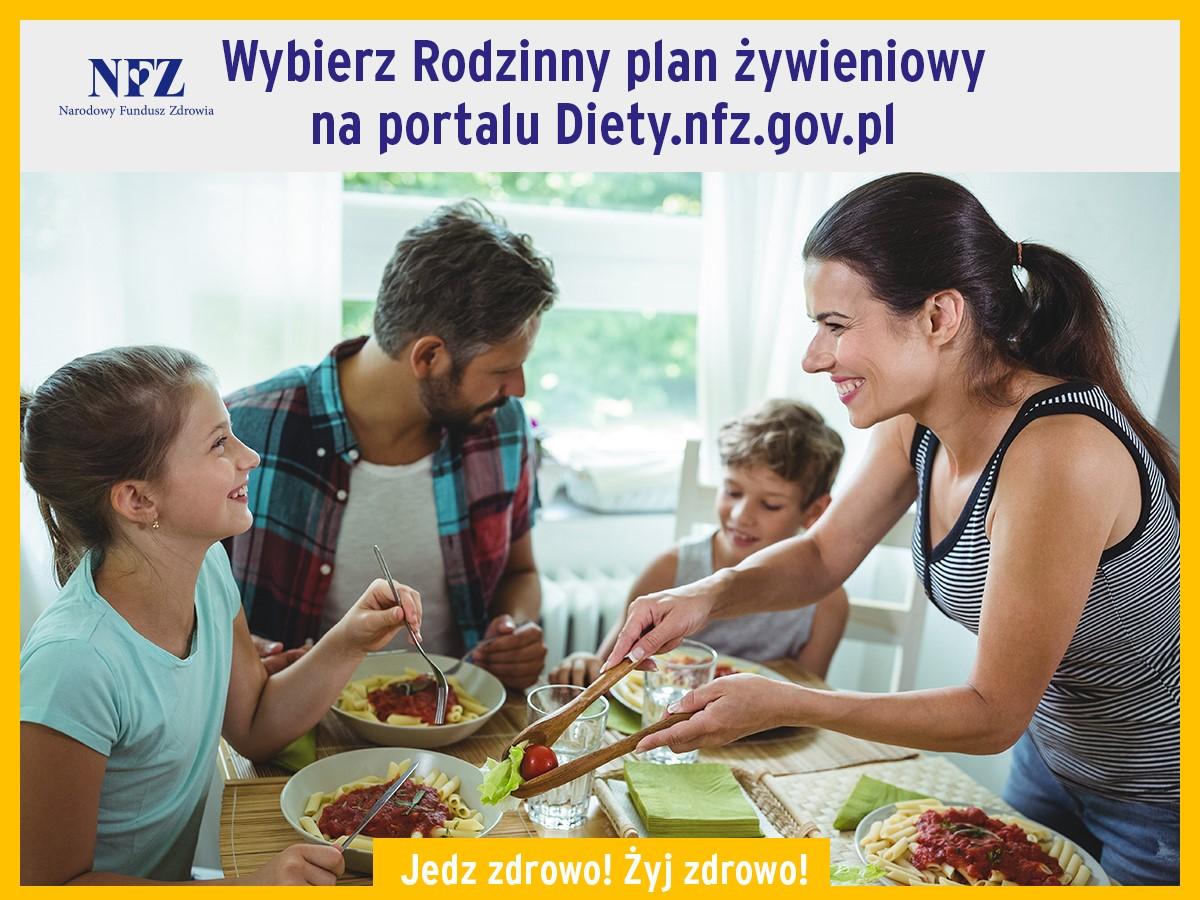 Rodzinny plan żywieniowy NFZ Bezpłatny Rodzinny Plan Żywieniowy