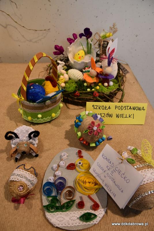 Stroiki wielkanoc DDK 2021 4 Pisanki, gaiki i stroiki wielkanocne w XXX jubileuszowym konkursie w Gminie Dąbrowa Tarnowska