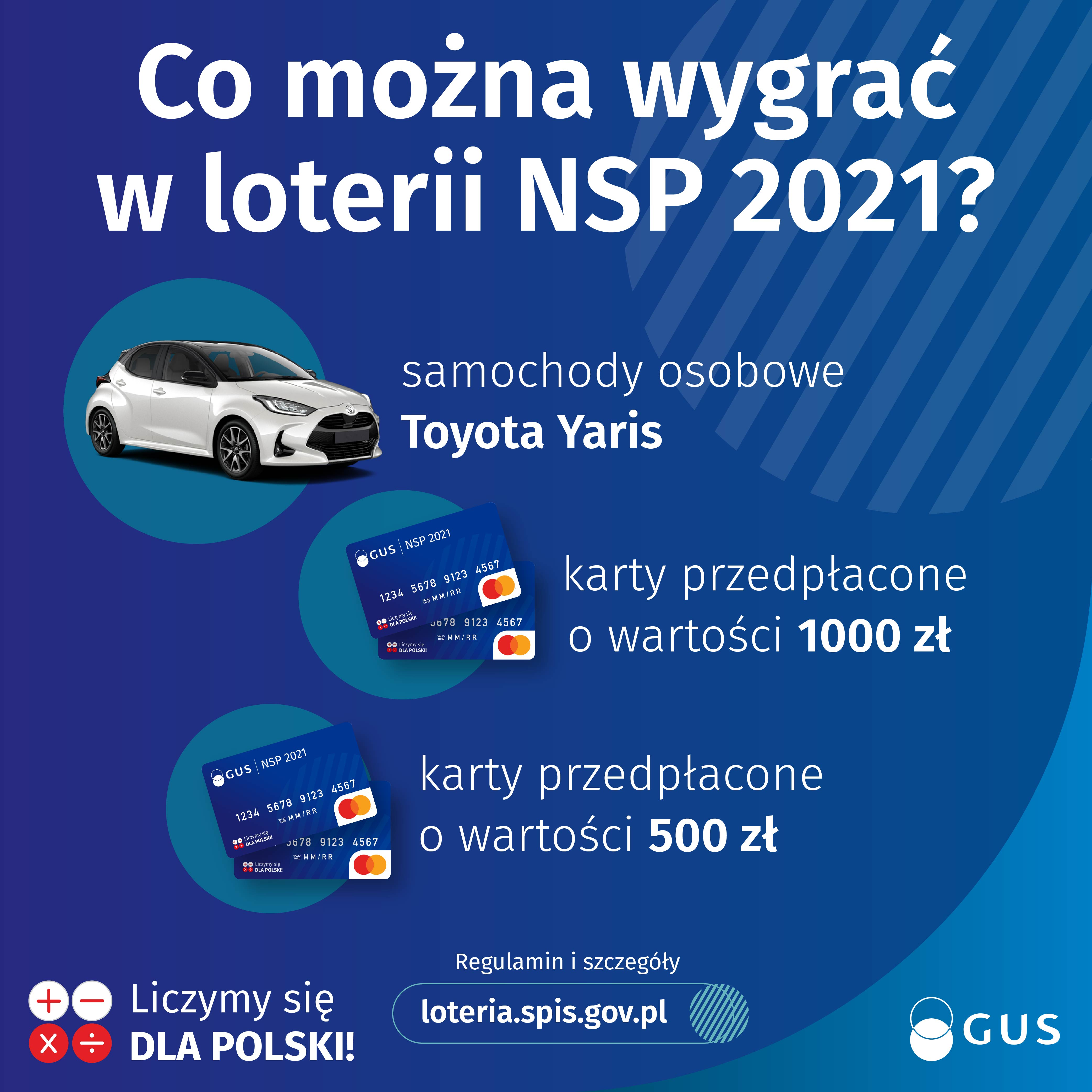 1 04 Spisz się przez internet i graj o nagrody w loterii Narodowego Spisu Ludności i Mieszkań 2021