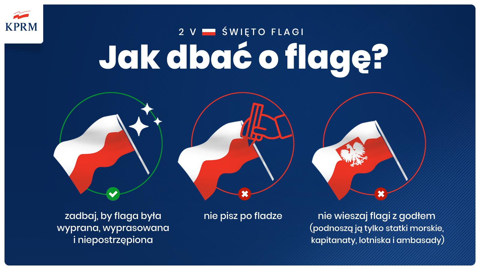 20210501 194832 2 Maja Dniem Flagi Rzeczypospolitej Polskiej – Bądźmy z niej dumni!