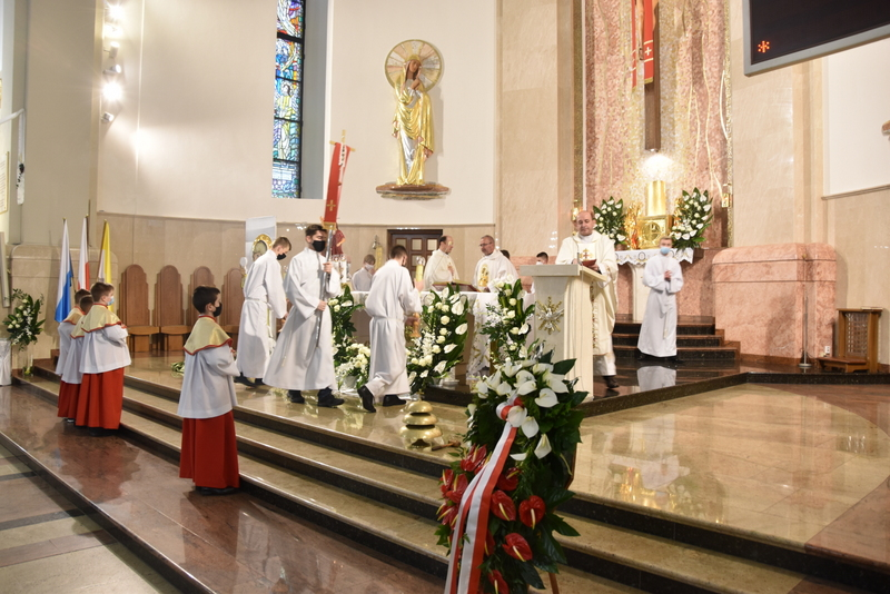 DSC 0336 Dąbrowskie obchody 230. rocznicy uchwalenia Konstytucji 3 Maja
