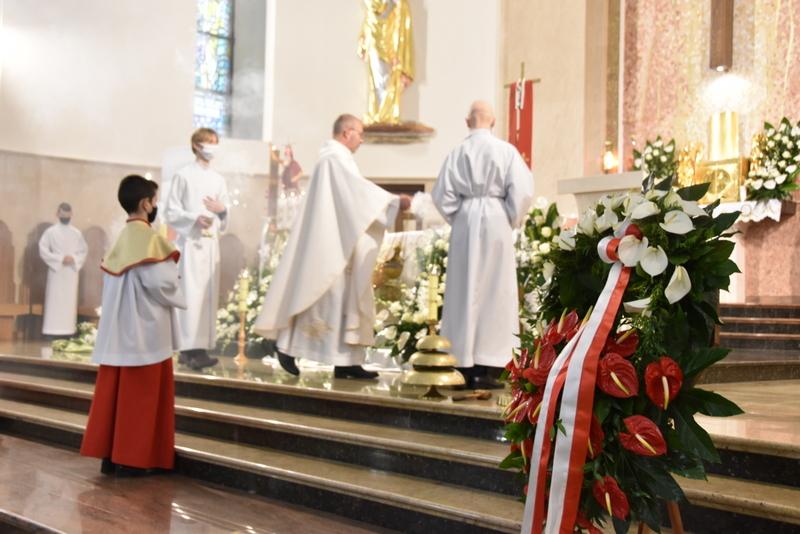 DSC 0338 Dąbrowskie obchody 230. rocznicy uchwalenia Konstytucji 3 Maja