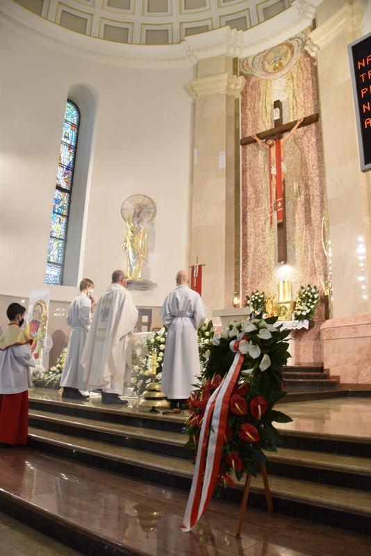 DSC 0339 Dąbrowskie obchody 230. rocznicy uchwalenia Konstytucji 3 Maja