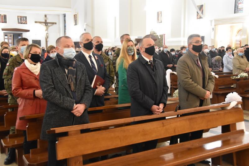 DSC 0343 Dąbrowskie obchody 230. rocznicy uchwalenia Konstytucji 3 Maja