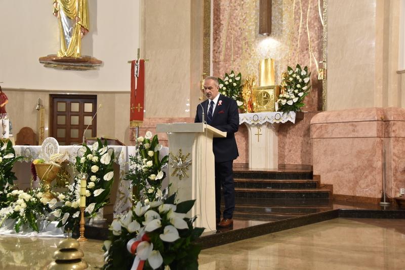 DSC 0348 Dąbrowskie obchody 230. rocznicy uchwalenia Konstytucji 3 Maja