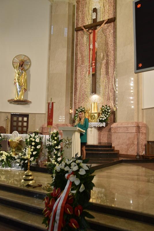 DSC 0356 Dąbrowskie obchody 230. rocznicy uchwalenia Konstytucji 3 Maja