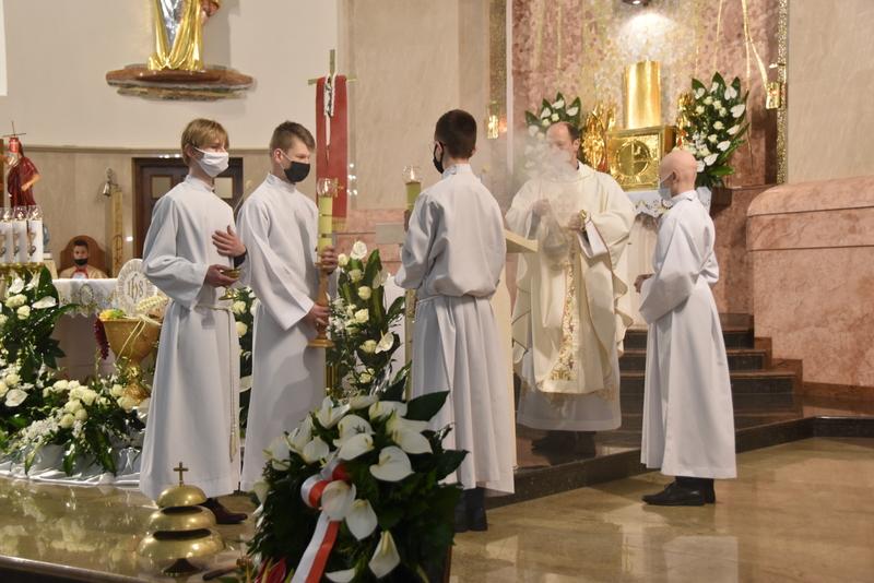 DSC 0358 Dąbrowskie obchody 230. rocznicy uchwalenia Konstytucji 3 Maja