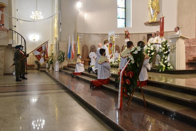 DSC 0365 Dąbrowskie obchody 230. rocznicy uchwalenia Konstytucji 3 Maja