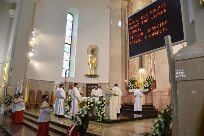 DSC 0369 Dąbrowskie obchody 230. rocznicy uchwalenia Konstytucji 3 Maja