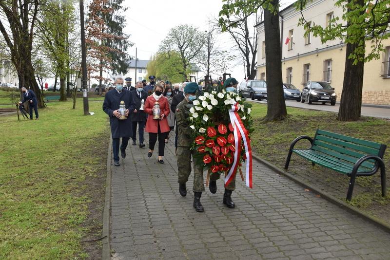 DSC 0371 Dąbrowskie obchody 230. rocznicy uchwalenia Konstytucji 3 Maja