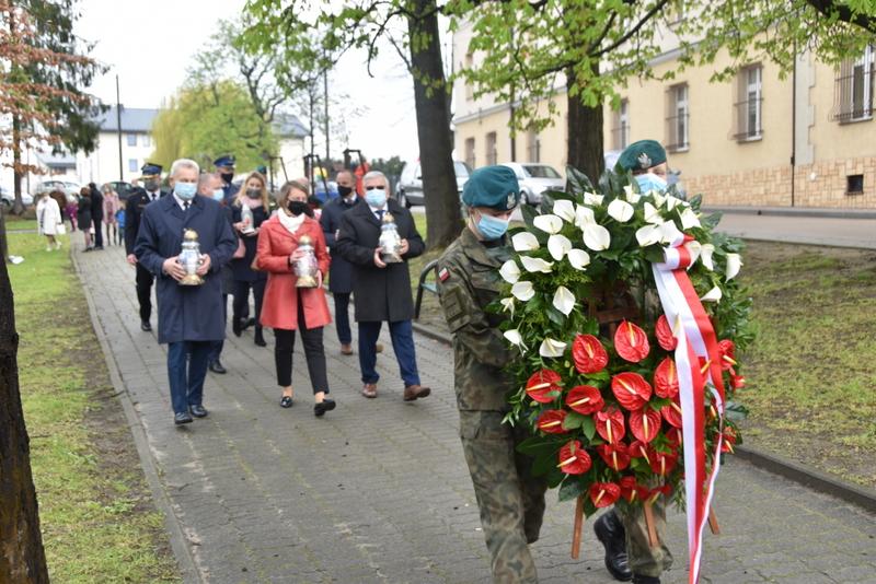DSC 0372 Dąbrowskie obchody 230. rocznicy uchwalenia Konstytucji 3 Maja