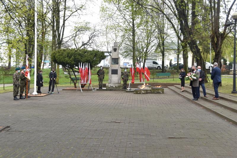 DSC 0374 Dąbrowskie obchody 230. rocznicy uchwalenia Konstytucji 3 Maja