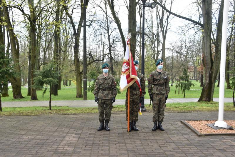 DSC 0376 Dąbrowskie obchody 230. rocznicy uchwalenia Konstytucji 3 Maja