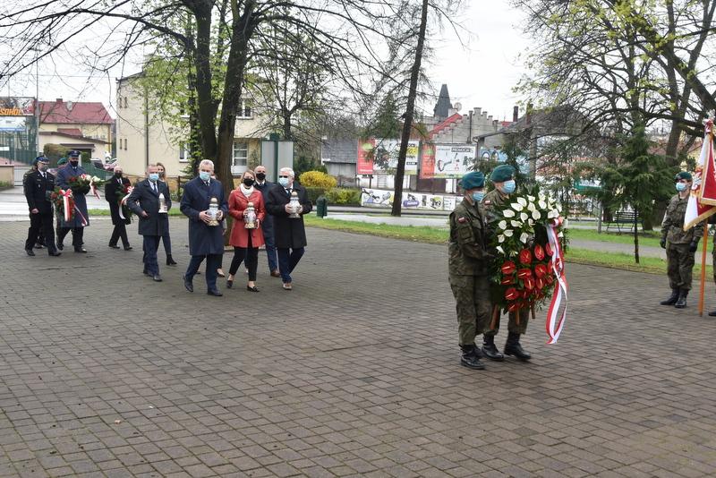 DSC 0378 Dąbrowskie obchody 230. rocznicy uchwalenia Konstytucji 3 Maja