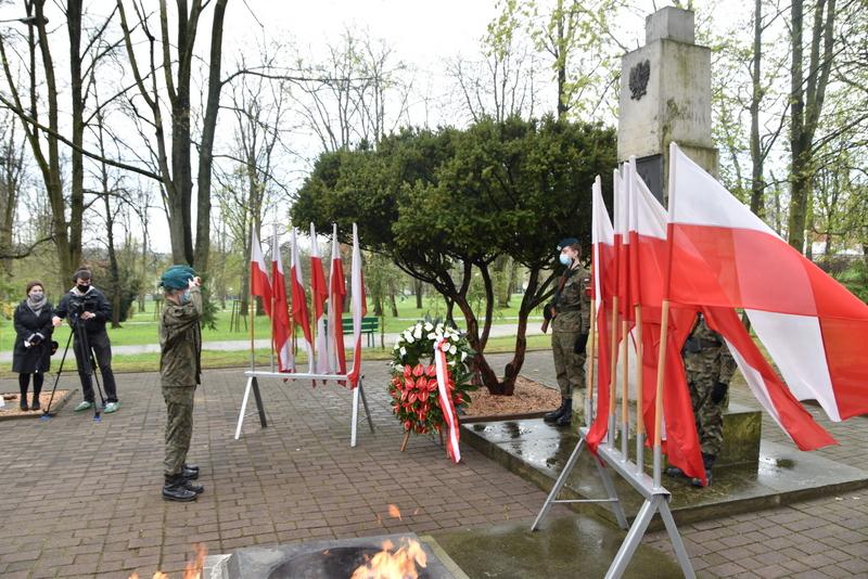 DSC 0384 Dąbrowskie obchody 230. rocznicy uchwalenia Konstytucji 3 Maja
