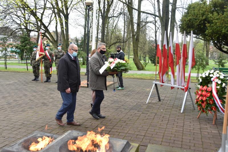 DSC 0386 Dąbrowskie obchody 230. rocznicy uchwalenia Konstytucji 3 Maja