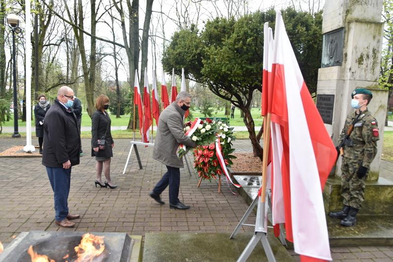 DSC 0387 Dąbrowskie obchody 230. rocznicy uchwalenia Konstytucji 3 Maja