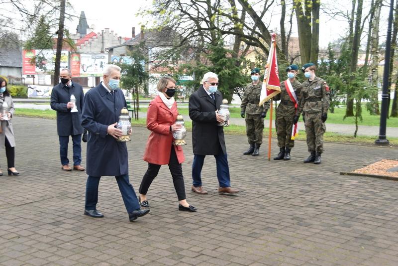 DSC 0397 Dąbrowskie obchody 230. rocznicy uchwalenia Konstytucji 3 Maja