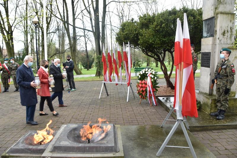DSC 0398 Dąbrowskie obchody 230. rocznicy uchwalenia Konstytucji 3 Maja