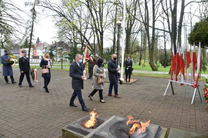 DSC 0399 Dąbrowskie obchody 230. rocznicy uchwalenia Konstytucji 3 Maja