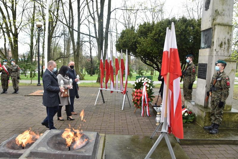 DSC 0400 Dąbrowskie obchody 230. rocznicy uchwalenia Konstytucji 3 Maja