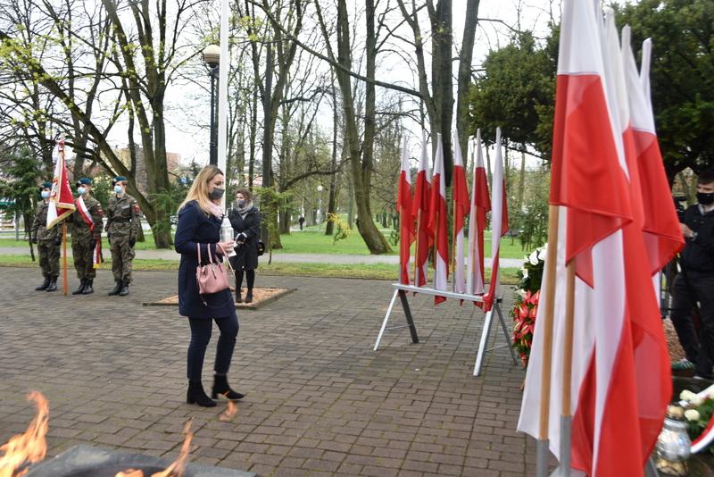 DSC 0403 Dąbrowskie obchody 230. rocznicy uchwalenia Konstytucji 3 Maja