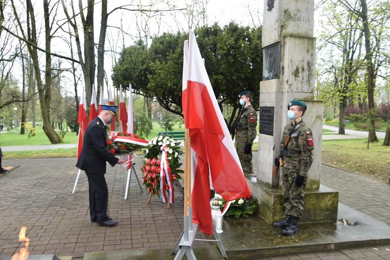 DSC 0406 Dąbrowskie obchody 230. rocznicy uchwalenia Konstytucji 3 Maja