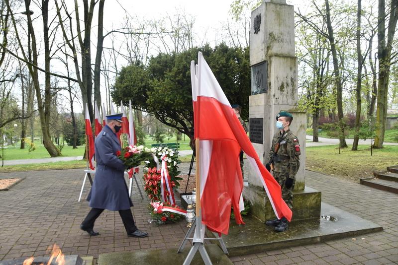 DSC 0409 Dąbrowskie obchody 230. rocznicy uchwalenia Konstytucji 3 Maja