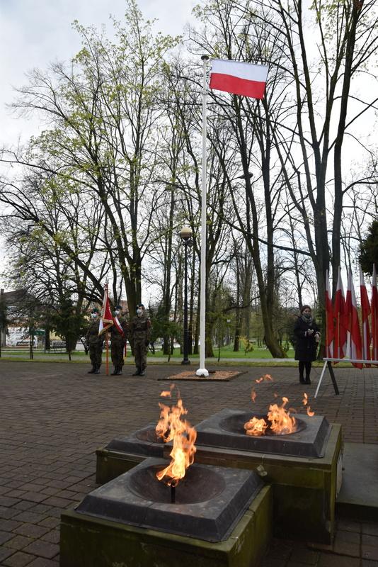 DSC 0419 Dąbrowskie obchody 230. rocznicy uchwalenia Konstytucji 3 Maja