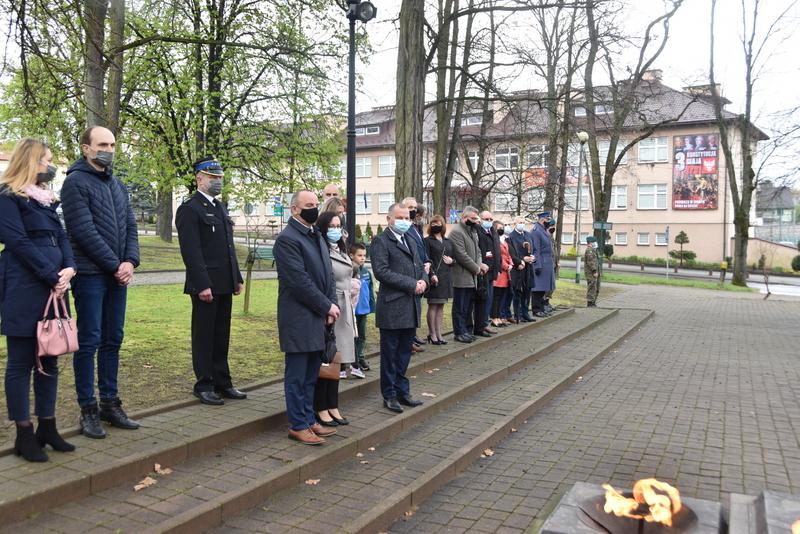 DSC 0420 Dąbrowskie obchody 230. rocznicy uchwalenia Konstytucji 3 Maja