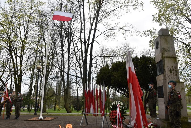 DSC 0421 Dąbrowskie obchody 230. rocznicy uchwalenia Konstytucji 3 Maja
