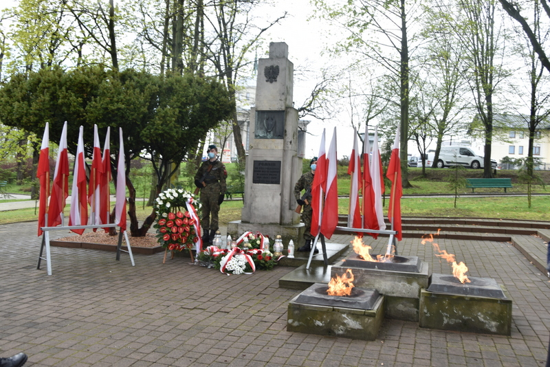 DSC 0423 Dąbrowskie obchody 230. rocznicy uchwalenia Konstytucji 3 Maja