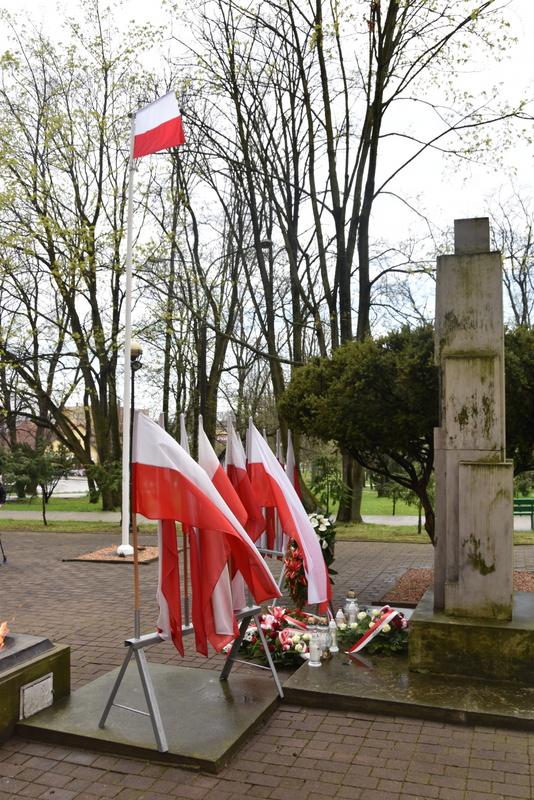 DSC 0428 Dąbrowskie obchody 230. rocznicy uchwalenia Konstytucji 3 Maja