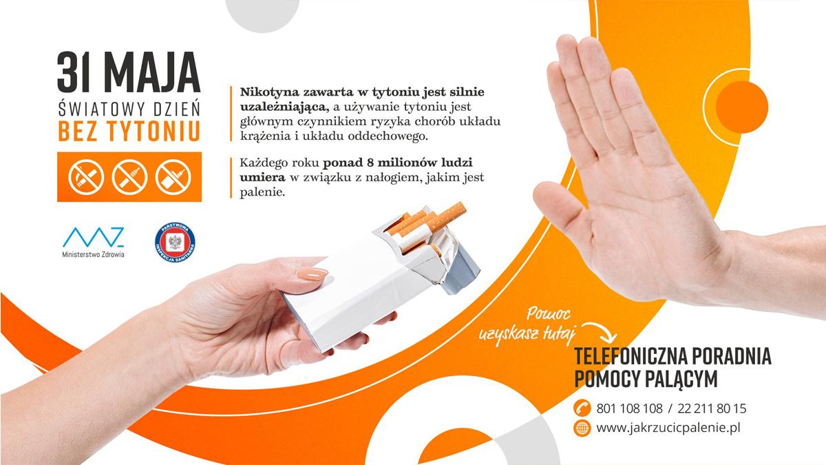 Dzień bez tytoniu 2021 1 Światowy Dzień bez Tytoniu 2021
