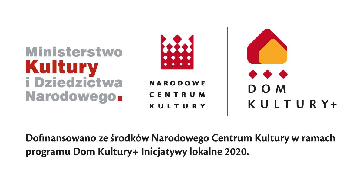 2020 nckdofinansdom kultury plus rgb 1591260745 Nabór projektów w ramach programu Więcej kultury   więcej tlenu Dąbrowskiego Domu Kultury