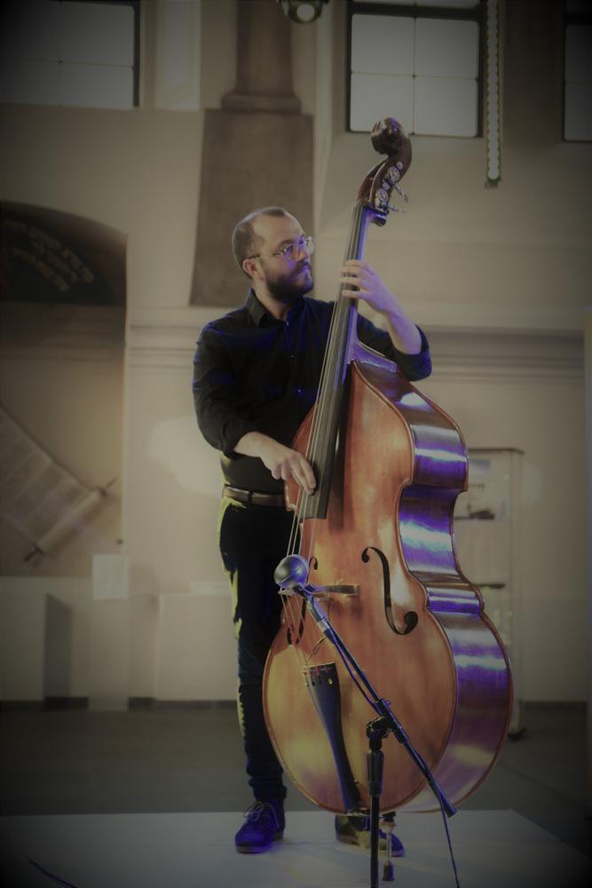 """koncert Klezmorim Trio 2021 OSKDT 3 Niezapomnianie chwile z """"Klezmorim Trio"""" w dąbrowskim OSK"""
