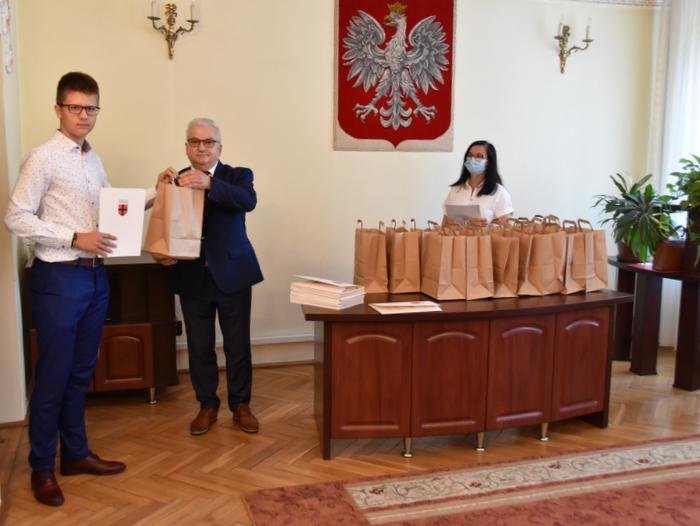 DSC 0280 Uroczystość wręczenia stypendiów Burmistrza Dąbrowy Tarnowskiej