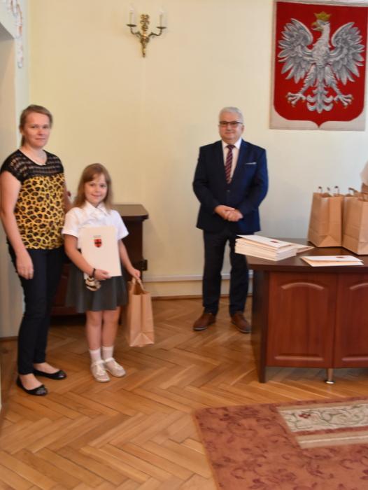 DSC 0289 Uroczystość wręczenia stypendiów Burmistrza Dąbrowy Tarnowskiej