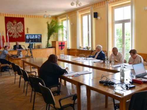 DSC 0369 Burmistrz Dąbrowy Tarnowskiej z wotum zaufania i absolutorium