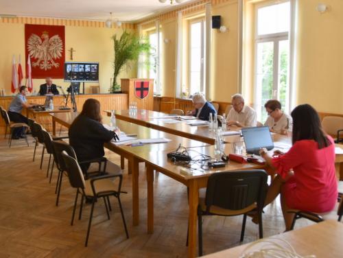 DSC 0377 XXXIII sesja Rady Miejskiej w Dąbrowie Tarnowskiej