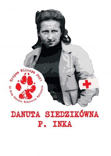 Danuta Siedzikówna INKA BTW2021 Zapraszamy na Bieg Tropem Wilczym   Dąbrowa Tarnowska   15 sierpnia 2021