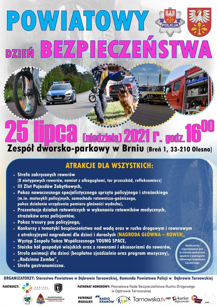 powiatowy dzien bezpieczenstwa1 Zaproszenie na Powiatowy Dzień Bezpieczeństwa