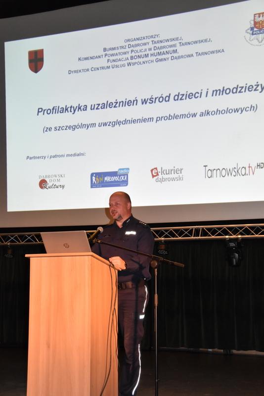 DSC 0461 Gminna konferencja Profilaktyka uzależnień wśród dzieci i młodzieży (ze szczególnym uwzględnieniem problemów alkoholowych)