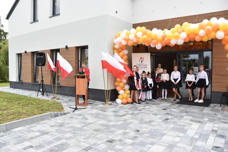 DSC 0664 Uroczyste otwarcie Centrum Kulturalno   Społecznego w Morzychnie
