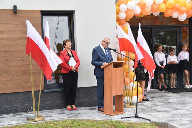 DSC 0672 Uroczyste otwarcie Centrum Kulturalno   Społecznego w Morzychnie
