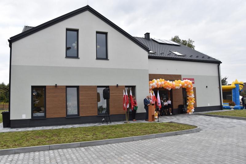 DSC 0681 Uroczyste otwarcie Centrum Kulturalno   Społecznego w Morzychnie