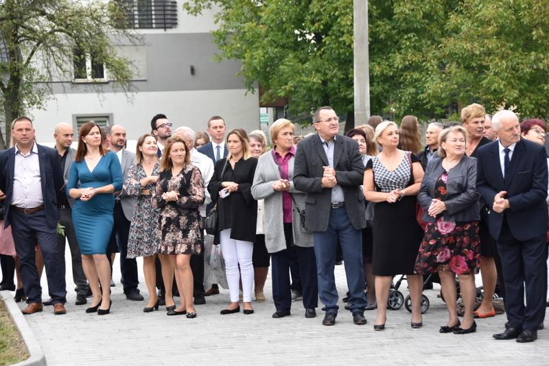 DSC 0688 Uroczyste otwarcie Centrum Kulturalno   Społecznego w Morzychnie