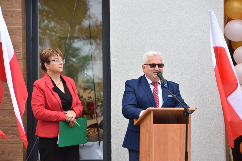 DSC 0697 Uroczyste otwarcie Centrum Kulturalno   Społecznego w Morzychnie