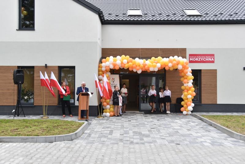 DSC 0699 Uroczyste otwarcie Centrum Kulturalno   Społecznego w Morzychnie
